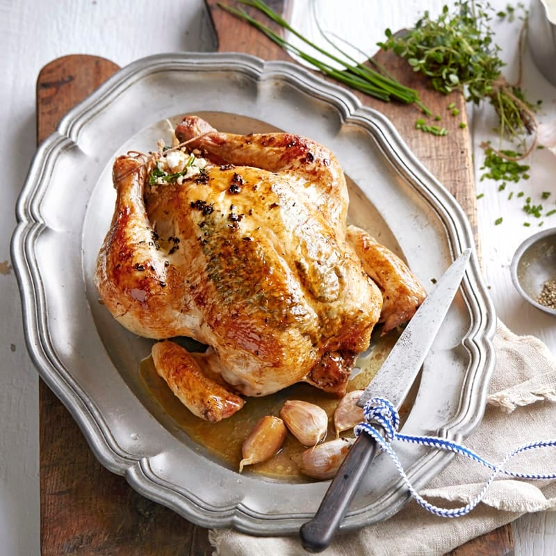 Photo of Roast garlic chicken with herb butter by WW