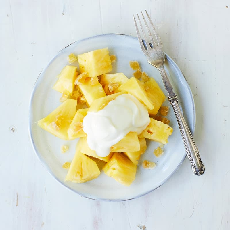 Photo of Pineapple and ginger fruit salad by WW