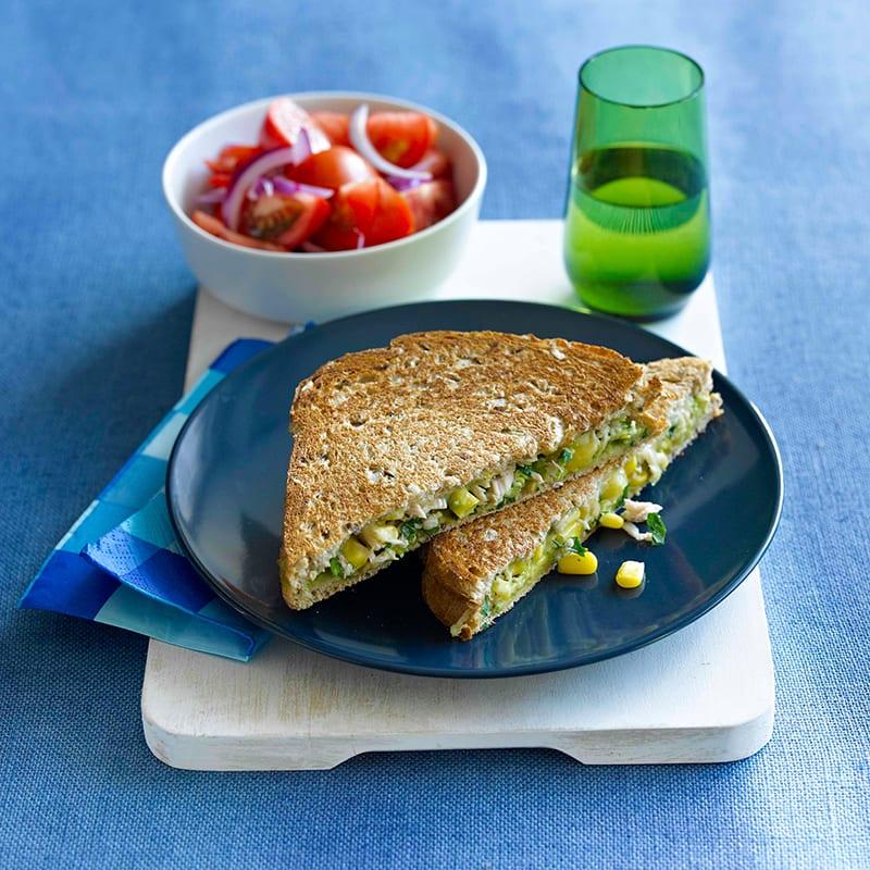 Photo of Tuna, corn and cheese toastie by WW