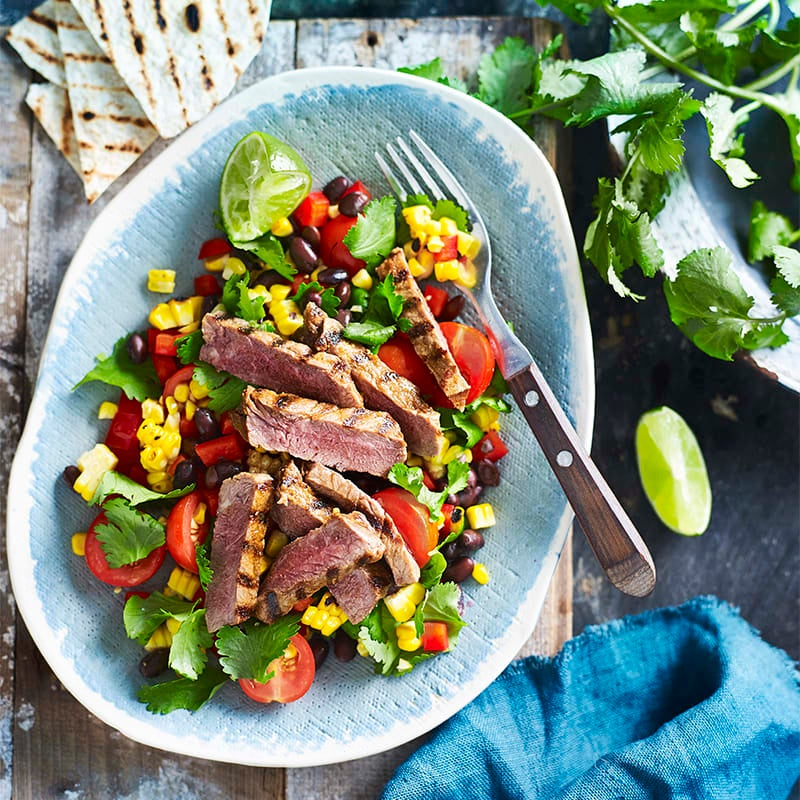 Photo of Mexican beef steak salad by WW
