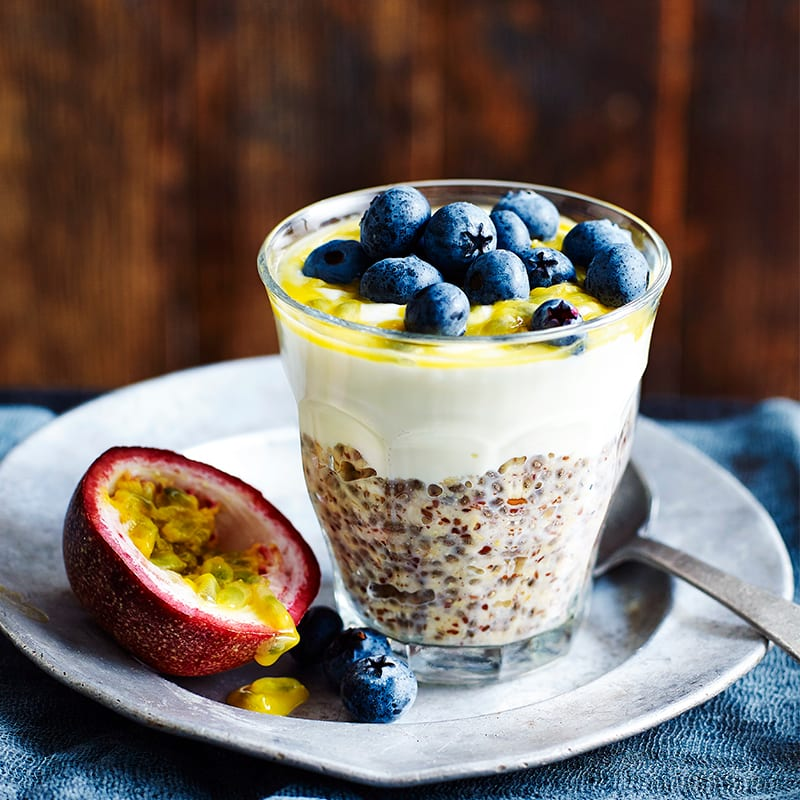 Photo of Oat, chia and fruit pots by WW