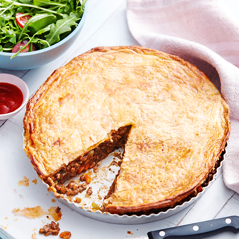 Photo of Quick family beef and lentil pie by WW