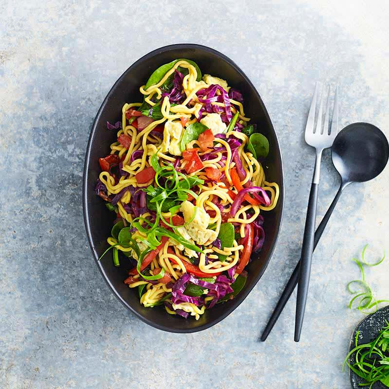 Photo of Rainbow vegetable mee goreng by WW
