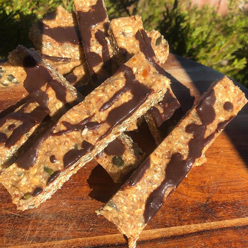 Photo of Sarah's choc almond protein bar by WW