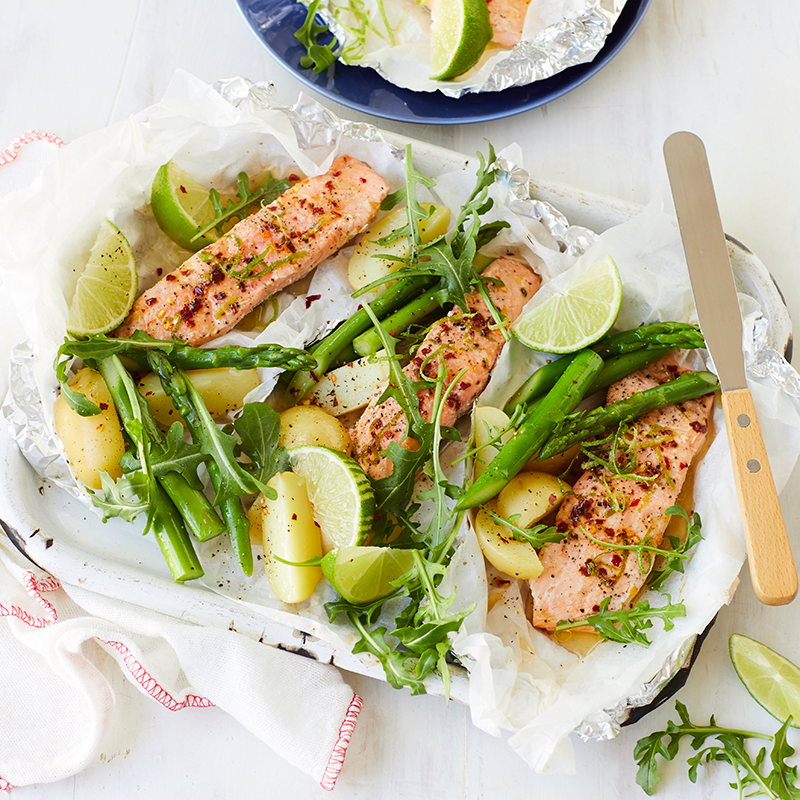 Photo of Baked chilli lime salmon by WW