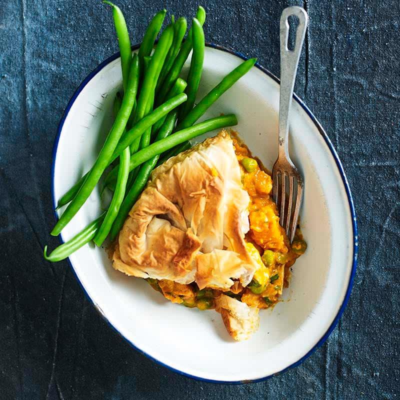 Photo of Butter chicken filo pie by WW