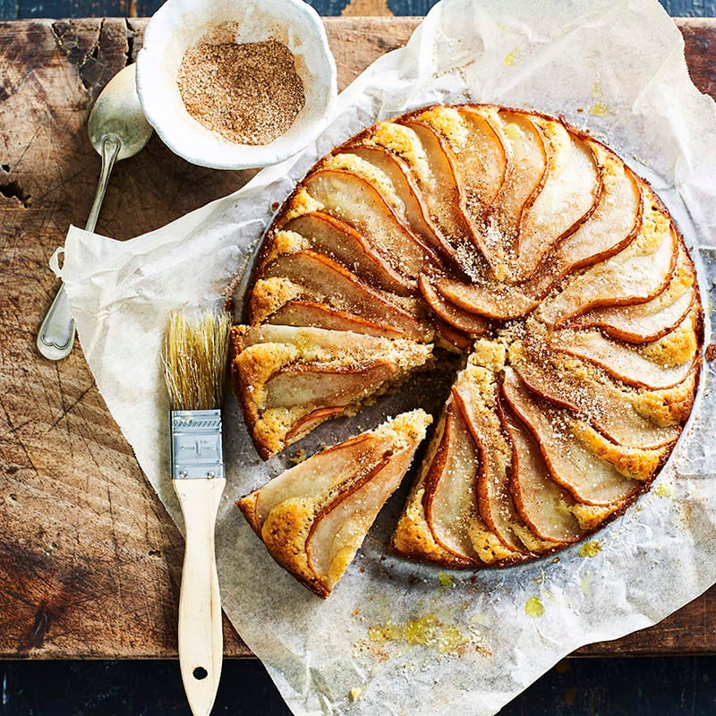 Photo of Cinnamon and pear tea cake by WW