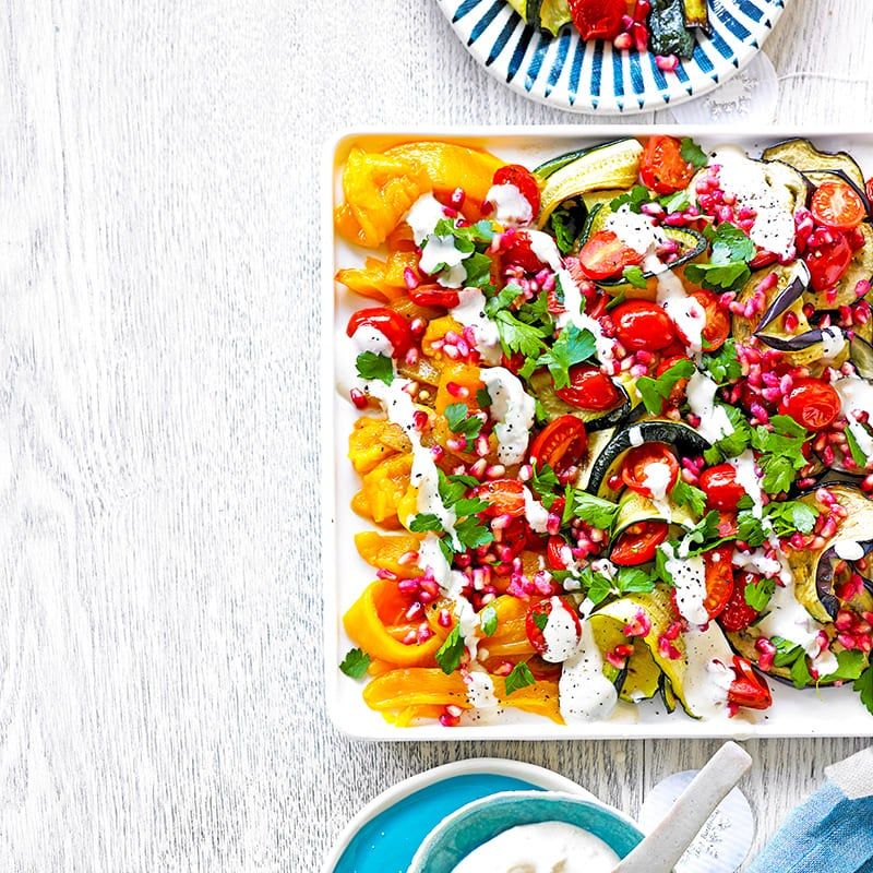 Photo of Grilled vegie salad by WW