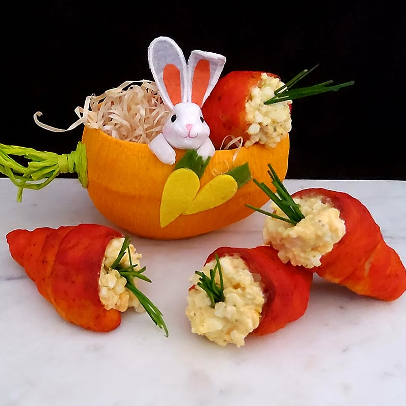 Photo of Vic's Bowls Easter filled pastry carrots by WW
