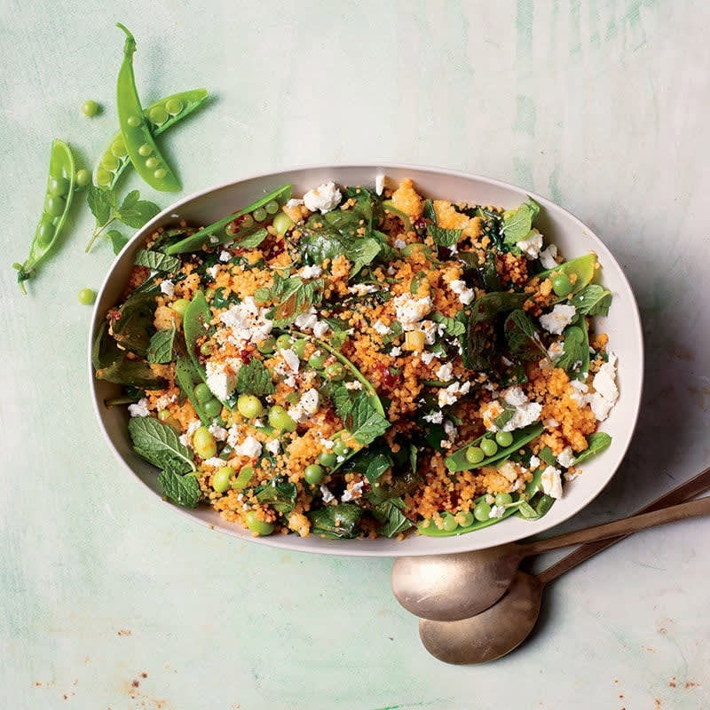 Photo of Edamame and couscous salad with feta by WW