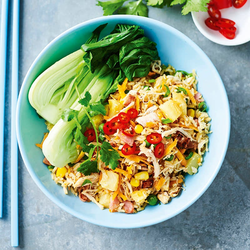 Photo of Spicy chicken and pineapple fried rice by WW
