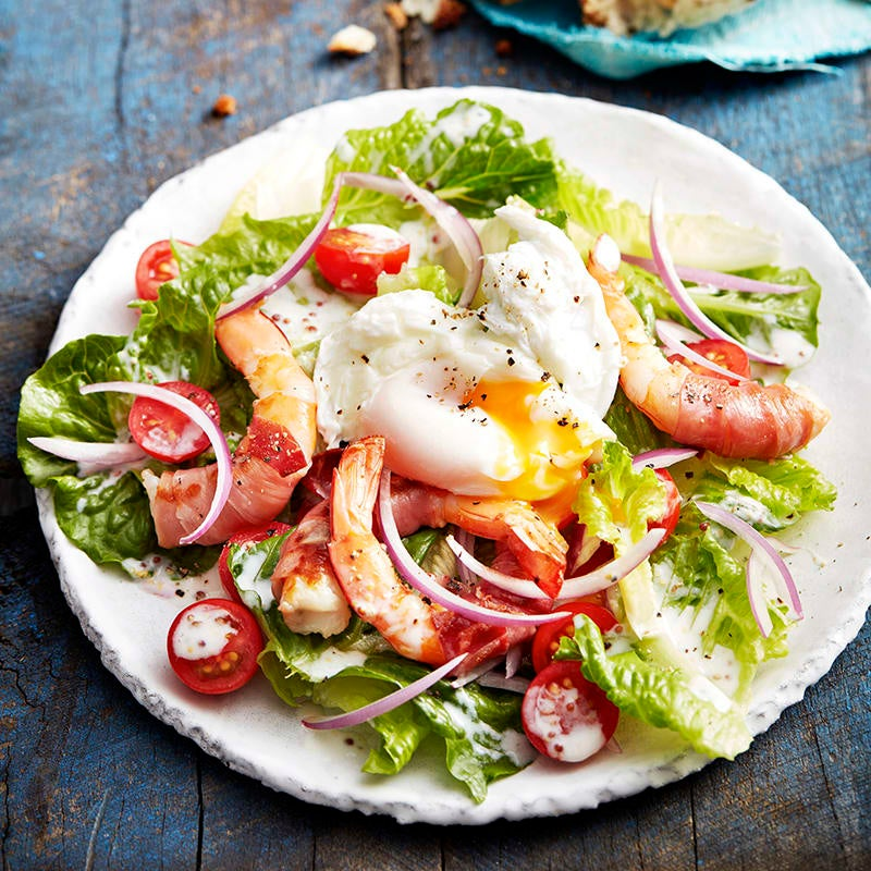 Photo of Prawn and egg BLT salad by WW