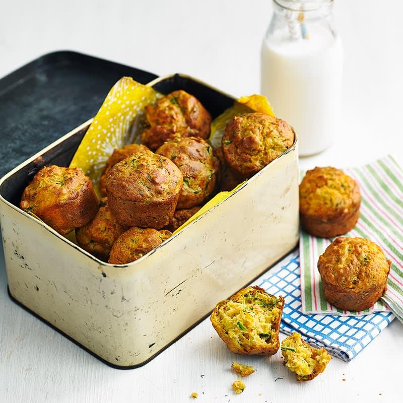 Photo of Zucchini and harissa mini muffins by WW
