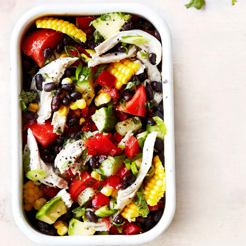 Photo of Chicken and black bean salad by WW