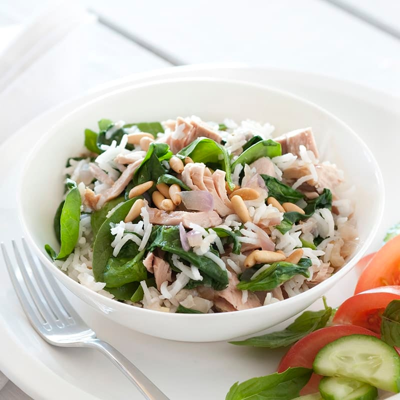 Photo of Tuna and spinach rice salad by WW