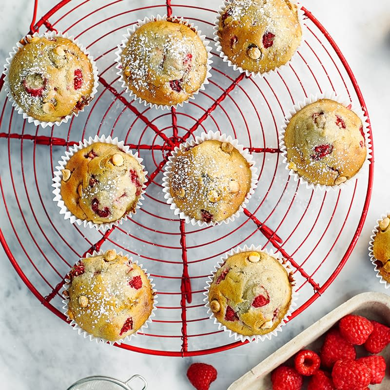 Photo of White chocolate and raspberry muffins by WW