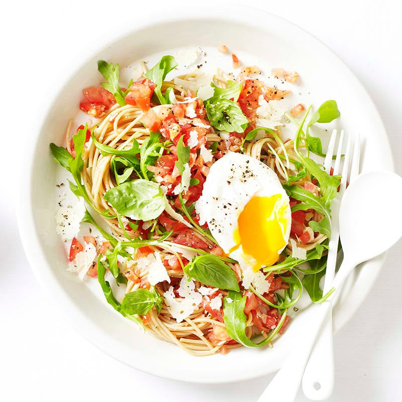 Photo of Tomato and rocket poached egg salad by WW