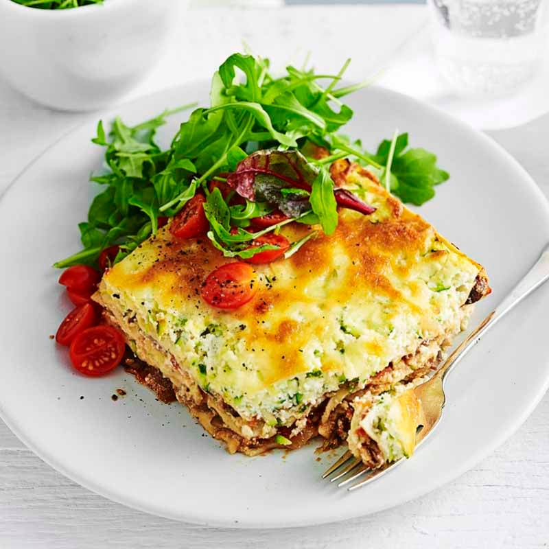 Photo of Ricotta and mixed mushroom lasagne by WW
