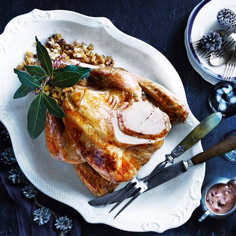 Photo of Roast turkey with maple and orange glaze by WW