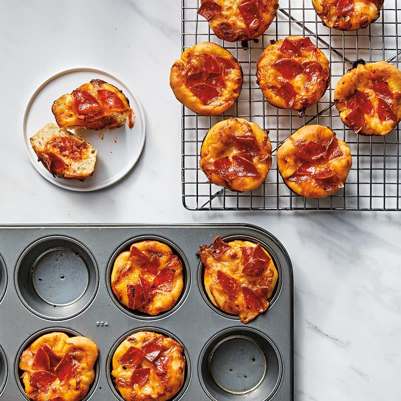 Photo of Mini deep-dish pepperoni pizzas by WW