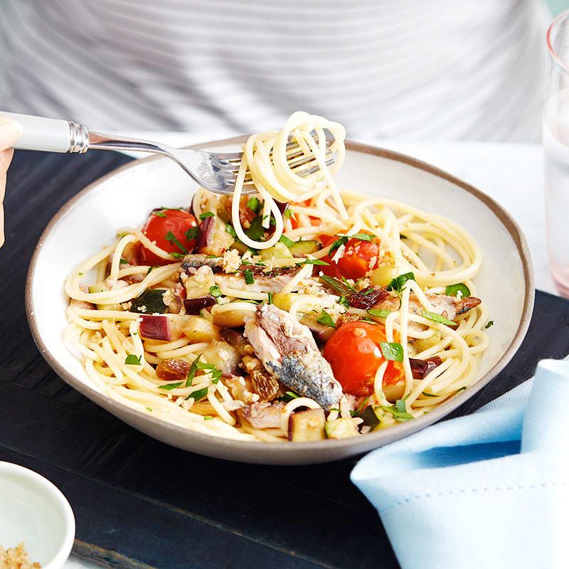 Photo of Sicilian-style spaghetti with sardines by WW