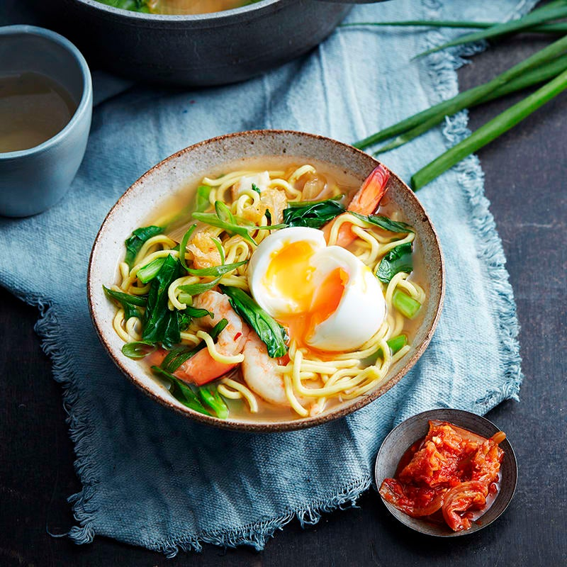 Photo of Prawn and kimchi soup by WW