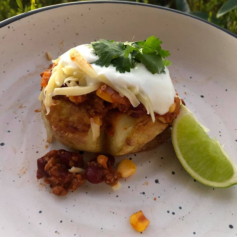 Photo of Sarah's Mexican potatoes by WW