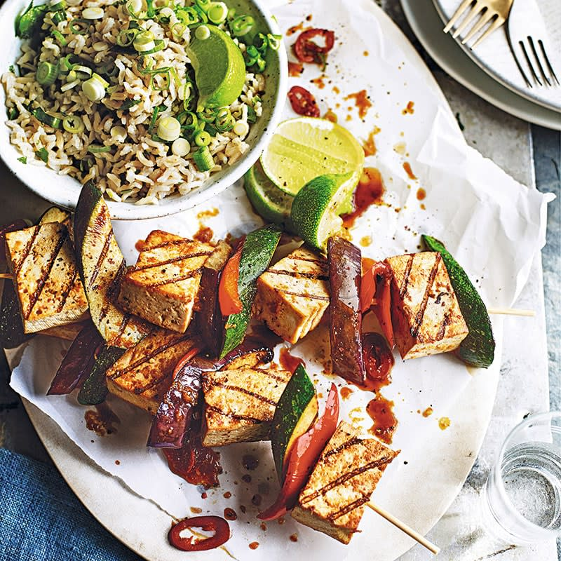 Photo of Tofu kebabs and rice salad by WW