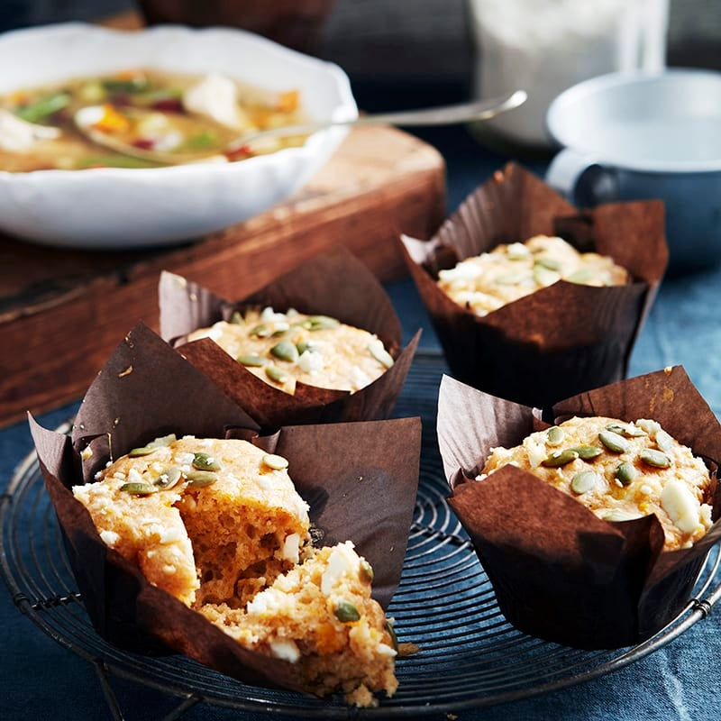 Photo of Spicy cheese and pumpkin muffins by WW