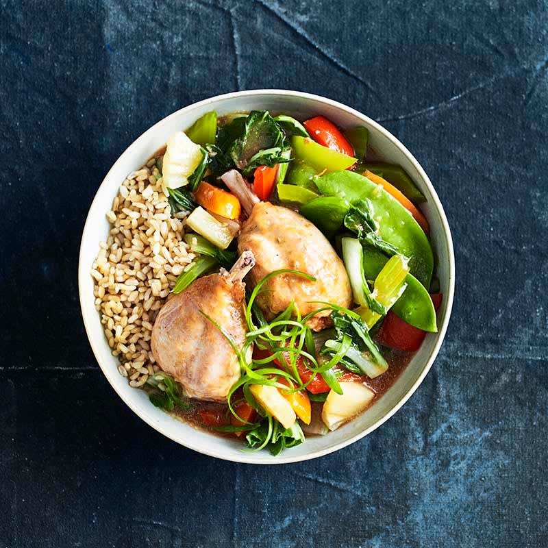 Photo of Slow-cooked sweet and sour chicken by WW