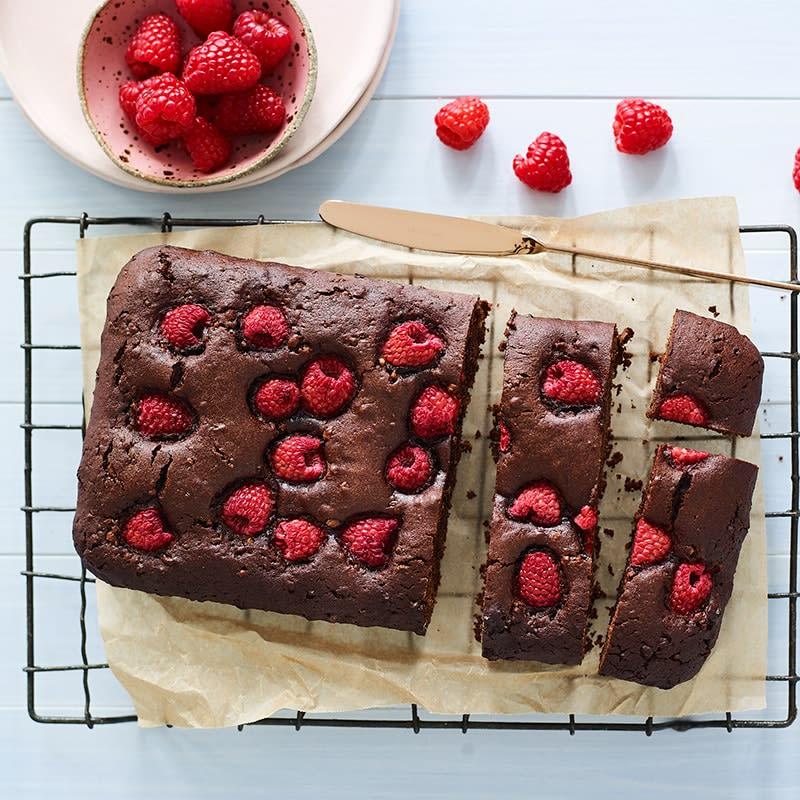 Photo of Crisp choc raspberry brownies by WW