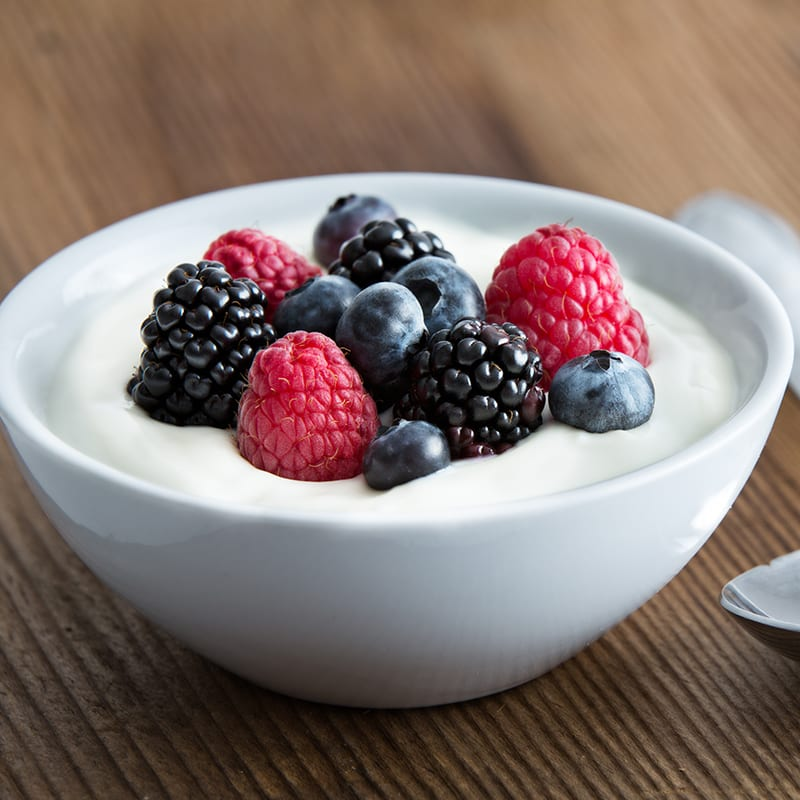 Photo of Yoghurt and berries by WW