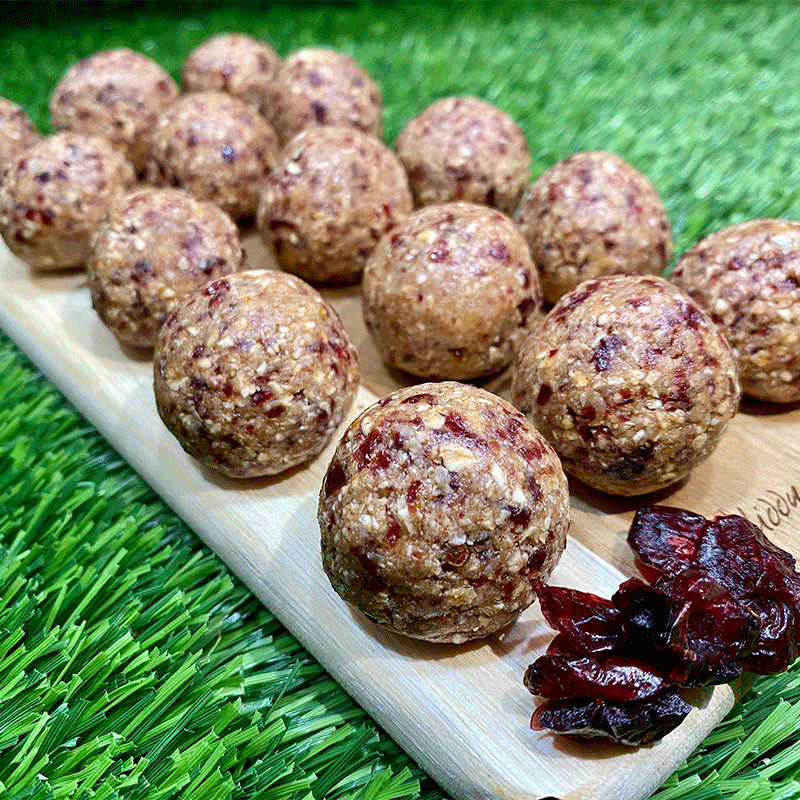 Photo of Anna's cranberry coconut bliss balls by WW
