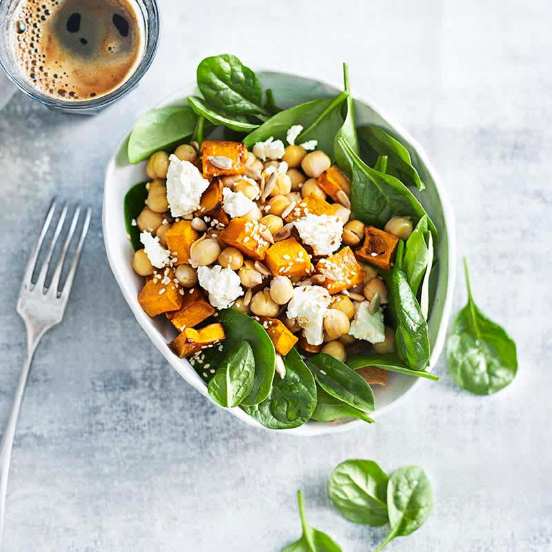 Photo of Toasted seed, pumpkin and chickpea bowl by WW