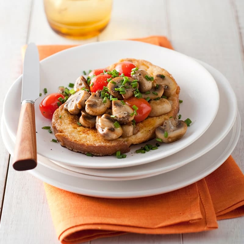 Photo of Savoury French toast with mushrooms and tomatoes by WW