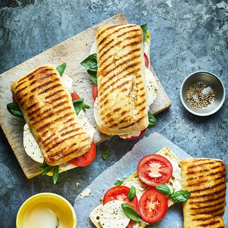 Photo of Caprese panini rolls by WW