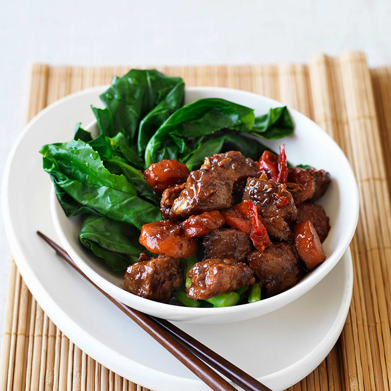 Photo of Slow-cooked sticky pork by WW