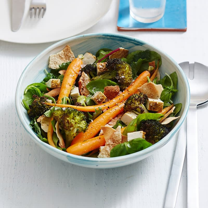 Photo of Roast carrot, broccoli and tofu salad by WW