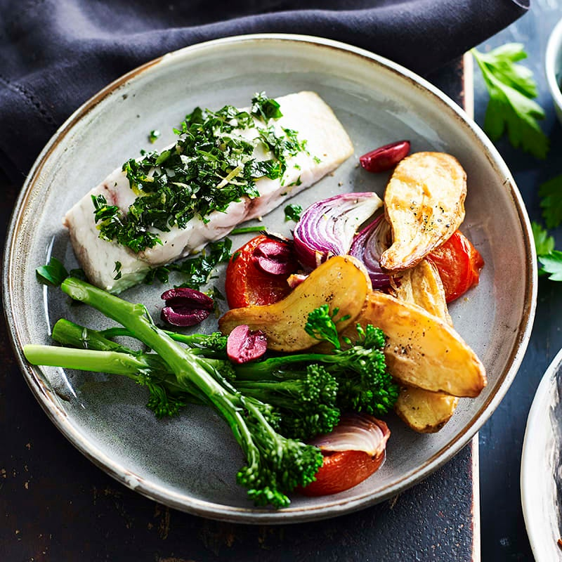 Photo of Baked barramundi with gremolata by WW