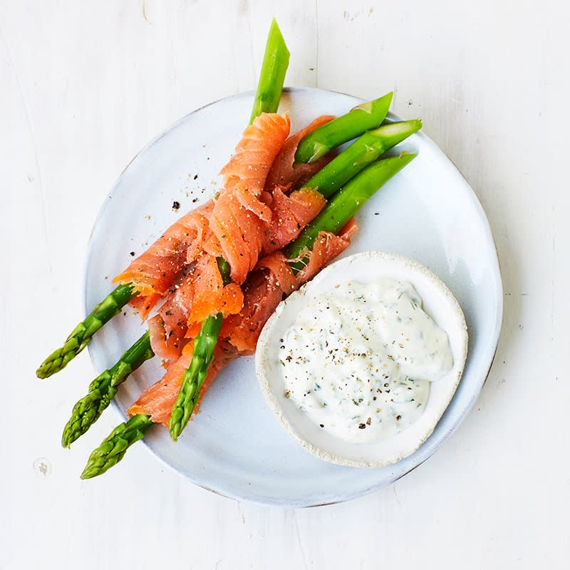 Photo of Smoked salmon and asparagus by WW