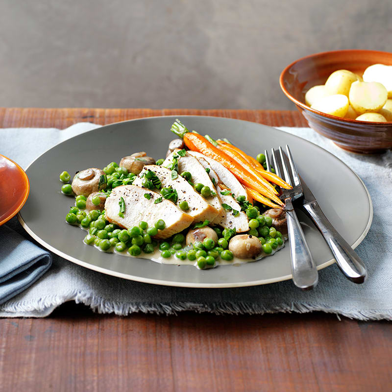 Photo of Chicken with mustard and tarragon sauce by WW