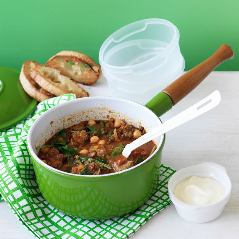 Photo of Spicy lamb, lentil and chickpea soup by WW