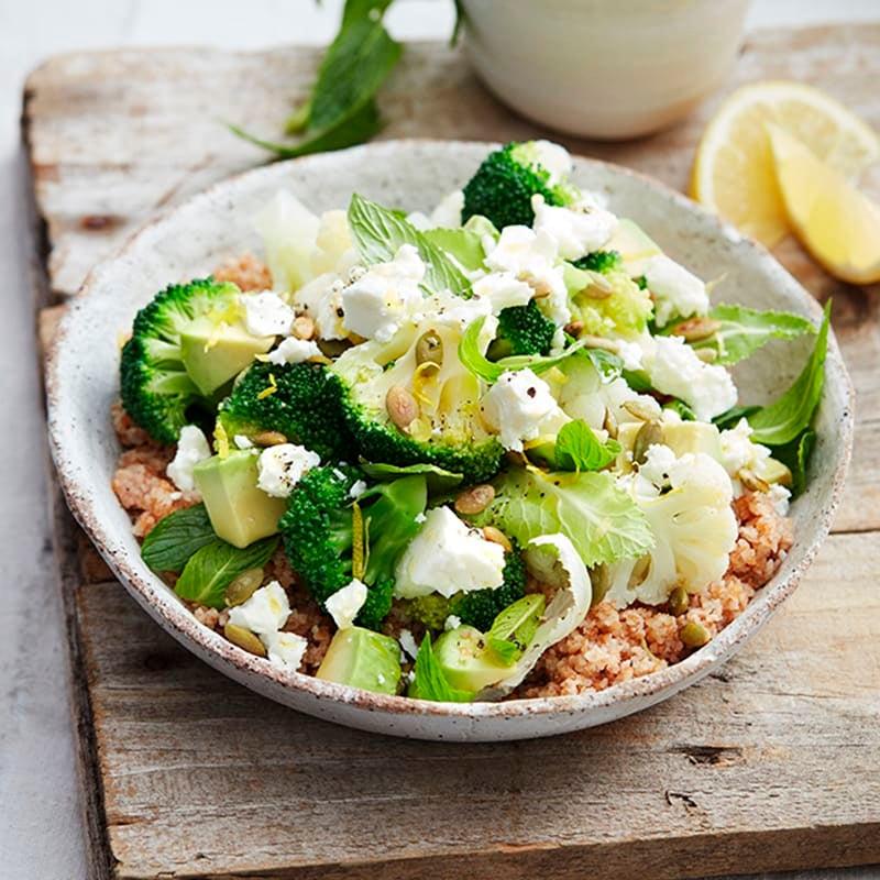 Photo of Broccoli, cauliflower and burghul salad by WW