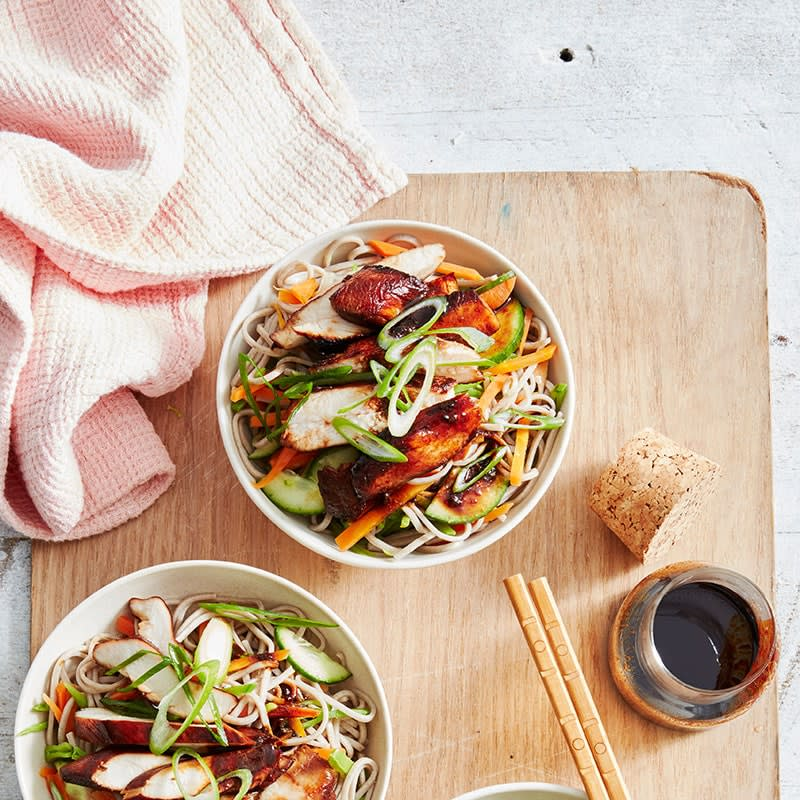 Photo of Honey-soy chicken noodle salad by WW