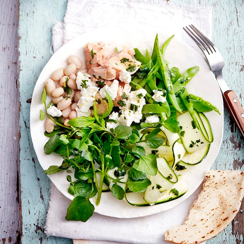Photo of Salmon and bean salad by WW