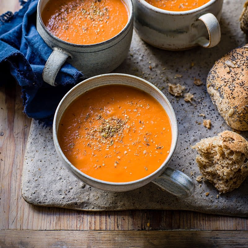 Photo of Tomato, capsicum and lentil soup by WW