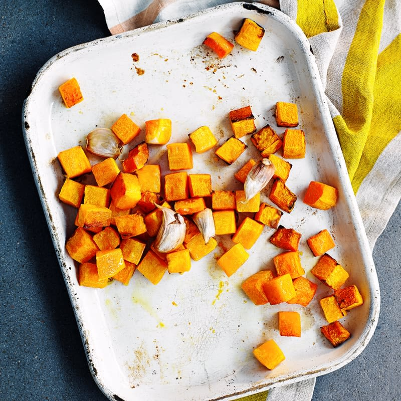 Photo of Roasted pumpkin cubes by WW