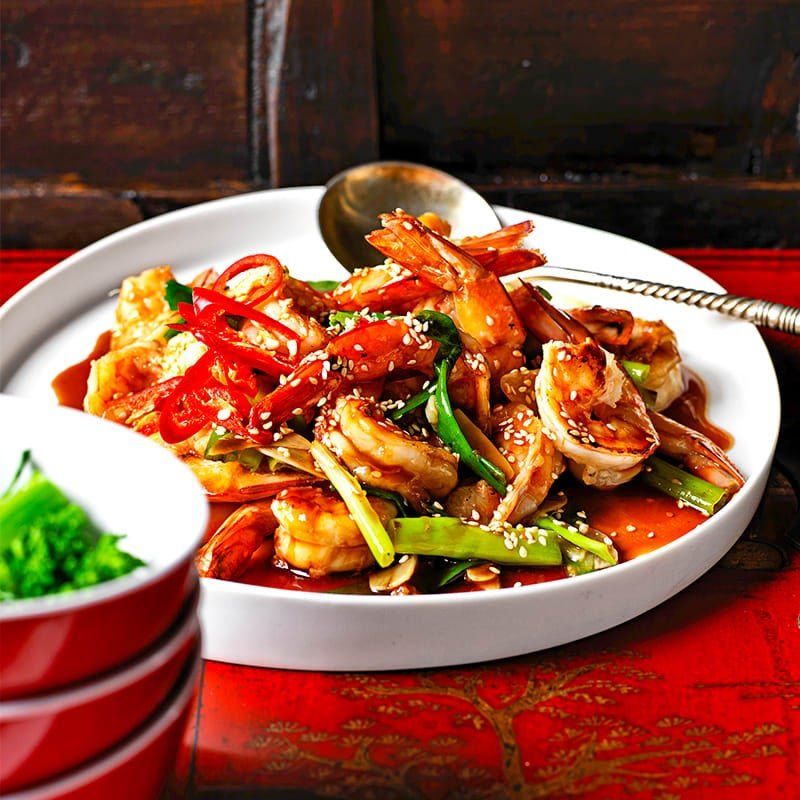 Photo of Prawns with ginger and garlic by WW