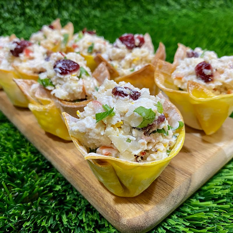Photo of Anna's creamy chicken craisin and apple wonton cups by WW