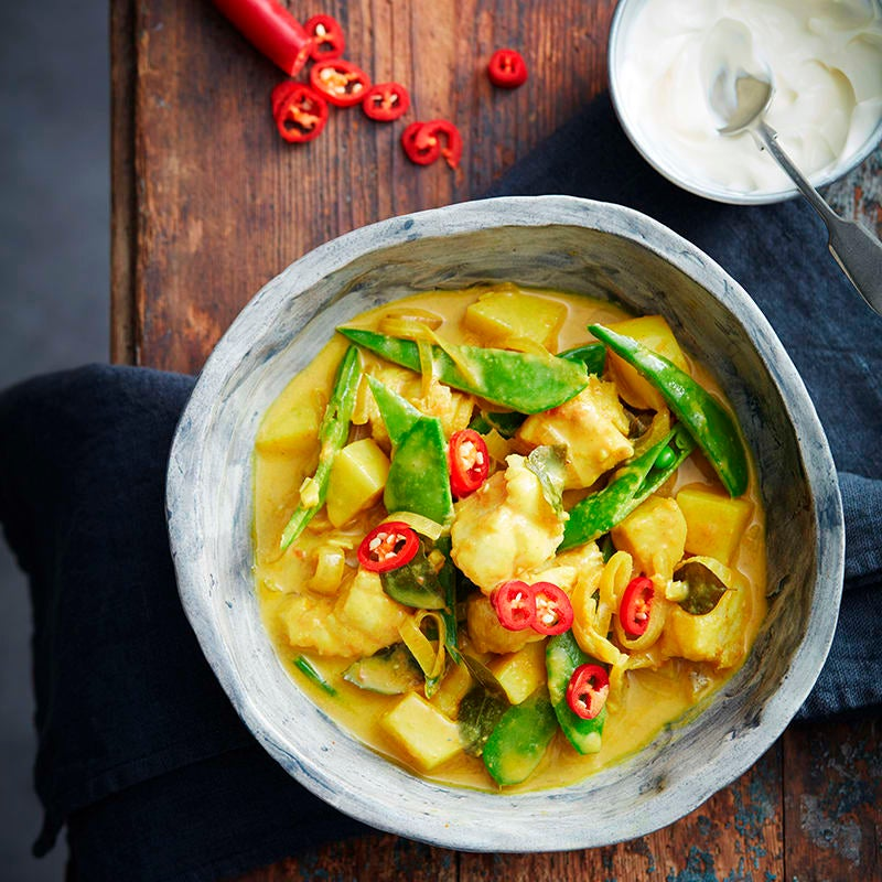 Photo of Southern Indian fish and potato curry by WW
